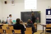 Kreativní demokratická škola - Prezentace projeku na Integrované střední škole živnostenské