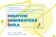 Pozvánka na konferenci Kreativní demokratická škola