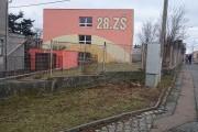 28. ZŠ - prohlídka trojúhelníku na rohu uli..