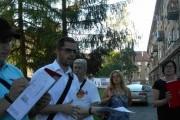 Komentovaná prohlídka vnitrobloků v Rokycan..