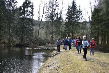 naučná stezka kolem zaniklé obce Lísková (pův. Haselbach)