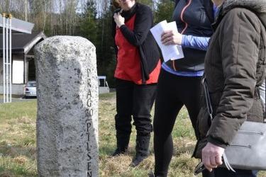komentovaná procházka po křížcích a kamenech v okolí zaniklé obce Lísková (býv. Haselbach)