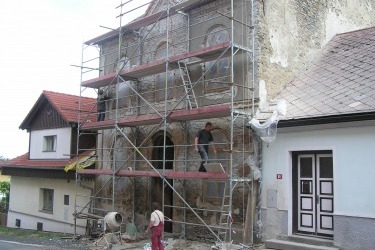 Rekonstrukce fasády synagogy
