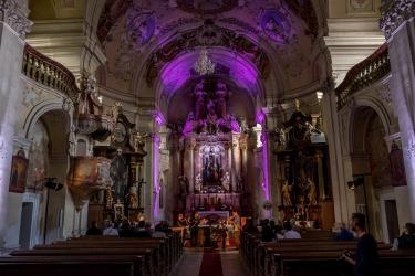 koncert v kostele Sv. Anna v rámci poutního dne