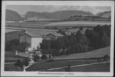 Pašijové divadlo vybudované v Hořicích v roce 1893 (Zdroj: Muzeum Fotoateliér Seidl)