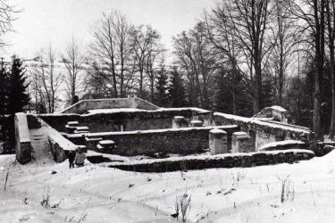 Torzo pašijového divadla, 1964 (Foto: Václav Šimeček)