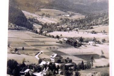Hamry v roce 1945 (Zdorj: Obec Hamry)