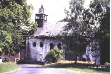 Kostel v roce 1990 (Zdroj: E. Wierer)