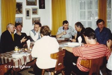 Setkání pracovní skupiny k obnově kostela v Hamrech (Zdroj: E. Wierer)