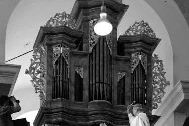 Barokní varhany v Úterý