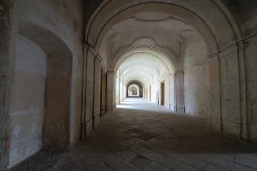 Prohlídka kláštera (Foto: D. Lepišová, 2017)