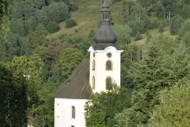 Barokní kostel sv. Jana Křtitele v Úterý