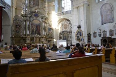 Varhanní koncert v kostele sv. Jana Křtitele v roce 2017