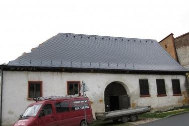 """""""Turbovna"""" s novou střechou"""