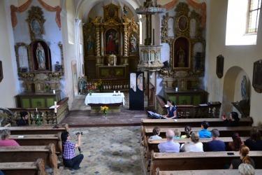 Koncert vážné hudby v kostele sv. Jakuba Většího v rámci Treffen 2017