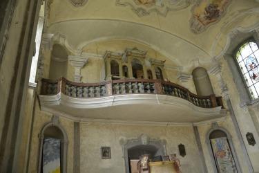 Interiér kostela 2017