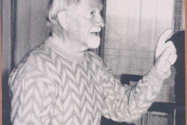 Režisér a spolutvůrce obnovených pašijových her Antonín Bašta (Zdroj: Muezum pašijových her v Hořicích)