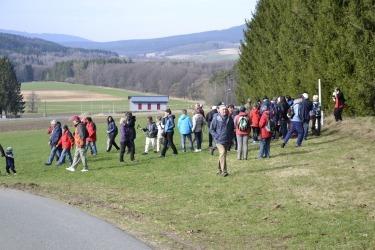 Die kommentierten Wanderungen in der Umgebung von Haselbach.