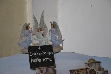Die Wallfahrtskirche St. Anna bei Plan