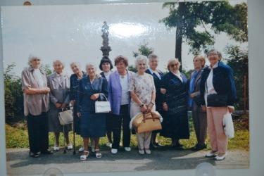 Besuch der ehemaligen Schülerinen der Pensionatsschule, 90er Jahren.