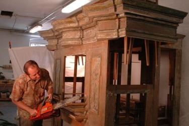 Die behutsame Restaurierung der Orgel begann 2009 und kostete insgesamt 3,7 Millionen Kronen.