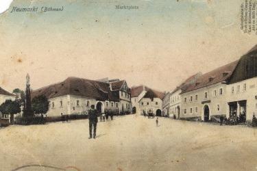 Barokmarktplatz in Neumarkt
