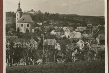 Historische Landschaftsansicht der Stad Neumarkt