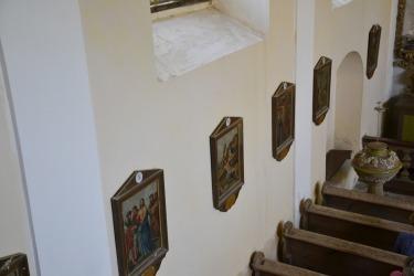 Der Innenraum der Kirche
