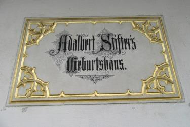 Denkmalstätte - Geburtshaus von Adalbert Stifter in Oberplan