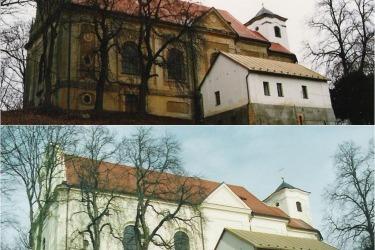 Renovierung der Kirche 1997 und 2001
