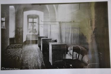 Interiér kláštera z doby působení řádu Navštívení Panny Marie a penzioátní školy
