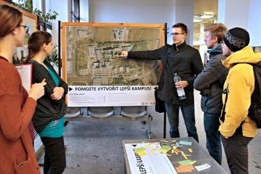 2017 - 2018 Plánování koncepce kampusu univ..